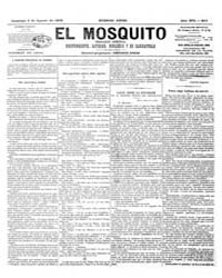 El Mosquito, August 1878 Volume Issue: August 1878 by Stein, Henri Frenchman