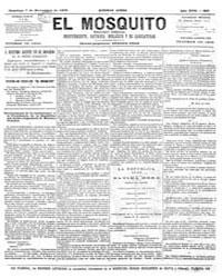 El Mosquito, December 1879 Volume Issue: December 1879 by Stein, Henri Frenchman