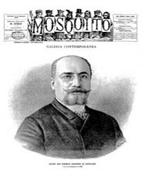 El Mosquito, February 1887 Volume Issue: February 1887 by Stein, Henri Frenchman