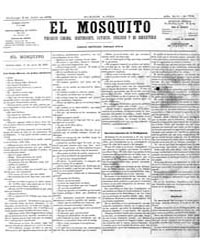 El Mosquito, July 1876 Volume Issue: July 1876 by Stein, Henri Frenchman