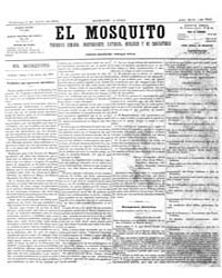 El Mosquito, June 1876 Volume Issue: June 1876 by Stein, Henri Frenchman