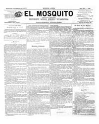 El Mosquito, March 1877 Volume Issue: March 1877 by Stein, Henri Frenchman