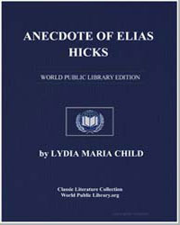 Anecdote of Elias Hicks by Child, Lydia Maria