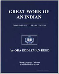 Great Work of an Indian by Reed, Ora Eddleman