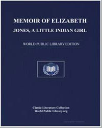 Memoir of Elizabeth Jones by Girl, Little Indian