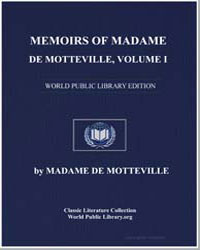 Memoirs of Madame de Motteville, Volume ... by De Motte Ville, Madame