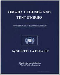 Omaha Legends and Tent Stories by Flesche, Susette La