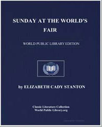 Sunday at the World's Fair by Stanton, Elizabeth Cady