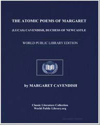 The Ato Mic Poems of Margaret (Lucas) Ca... by Cavendish, Margaret