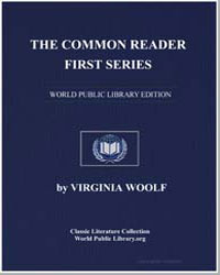 The Common Reader First Series by Woolf, Virginia