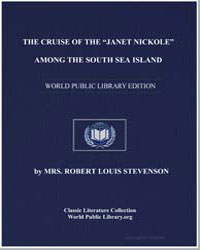 The Cruise of the Janet Nickole Among th... by Stevenson, Mrs. Robert Louis