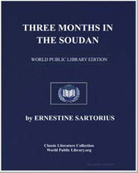 Three Months in the Sudan by Sartorius, Ernestine