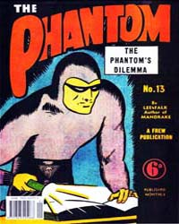 The Phantom: The Phantom's Dilemma: Issu... Volume Issue 13 by Falk, Lee