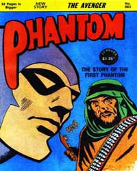 The Phantom: The Avenger: Issue 883 Volume Issue 883 by Falk, Lee