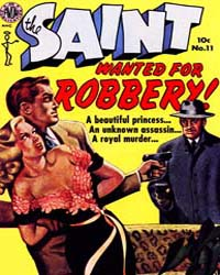 The Saint: Issue 11 Volume Issue 11 by Avon Comics