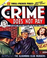 Crime Does Not Pay : Issue 90 Volume Issue 90 by Lev Gleason Publications