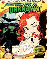 Adventures into the Unknown : Issue 21 Volume Issue 21 by American Comics Group/Acg