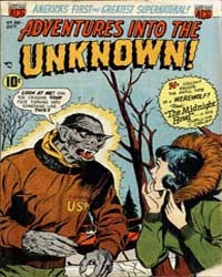 Adventures into the Unknown : Issue 36 Volume Issue 36 by American Comics Group/Acg