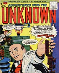 Adventures into the Unknown : Issue 62 Volume Issue 62 by American Comics Group/Acg