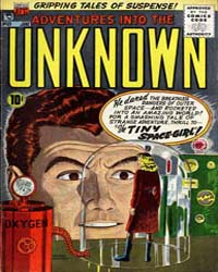 Adventures into the Unknown : Issue 63 Volume Issue 63 by American Comics Group/Acg