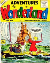 Adventures in Wonderland : Issue 4 Volume Issue 4 by Lev Gleason Publications