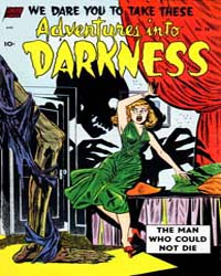 Adventures into Darkness : Issue 10 Volume Issue 10 by Better/Nedor/Standard/Pines Publications