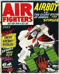 Air Fighters Comics : Vol. 1, Issue 10 Volume Vol. 1, Issue 10 by Hillman Periodicals