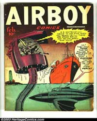 Airboy Comics : Vol. 5, Issue 1 Volume Vol. 5, Issue 1 by Biro, Charles