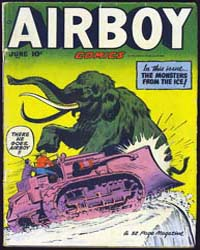 Airboy Comics : Vol. 7, Issue 5 Volume Vol. 7, Issue 5 by Biro, Charles