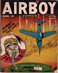 Airboy Comics : Vol. 8, Issue 2 Volume Vol. 8, Issue 2 by Biro, Charles