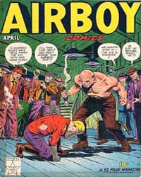 Airboy Comics : Vol. 6, Issue 3 Volume Vol. 6, Issue 3 by Biro, Charles