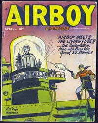 Airboy Comics : Vol. 8, Issue 3 Volume Vol. 8, Issue 3 by Biro, Charles
