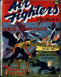 Air Fighters Comics : Vol. 1, Issue 1 Volume Vol. 1, Issue 1 by Hillman Periodicals