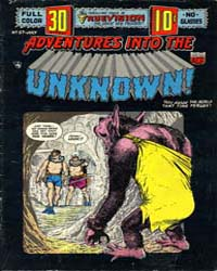 Adventures into the Unknown : Issue 57 Volume Issue 57 by American Comics Group/Acg
