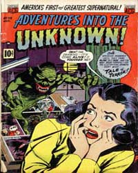 Adventures into the Unknown : Issue 39 Volume Issue 39 by American Comics Group/Acg