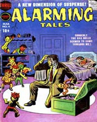 Alarming Tales : Issue 4 Volume Issue 4 by Harvey Comics