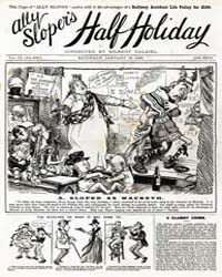 Ally Sloper's Half Holiday : Issue 247 Volume Issue 247 by Uk Comics