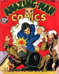 Amazing Man Comics : Issue 9 Volume Issue 9 by Centaur Publishing