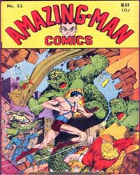 Amazing Man Comics : Issue 22 Volume Issue 22 by Centaur Publishing