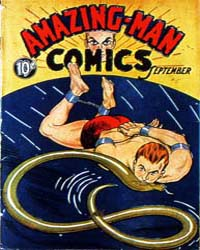 Amazing Man Comics : Issue 5 Volume Issue 5 by Centaur Publishing