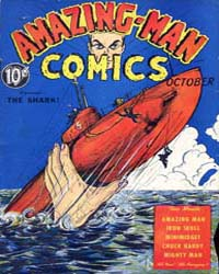 Amazing Man Comics : Issue 6 Volume Issue 6 by Centaur Publishing