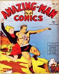 Amazing Man Comics : Issue 17 Volume Issue 17 by Centaur Publishing