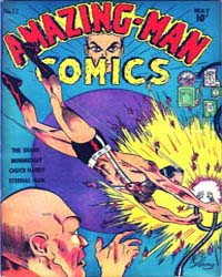 Amazing Man Comics : Issue 12 Volume Issue 12 by Centaur Publishing