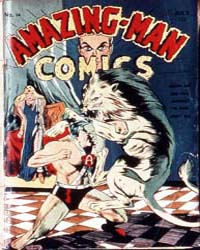 Amazing Man Comics : Issue 14 Volume Issue 14 by Centaur Publishing