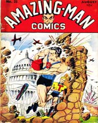 Amazing Man Comics : Issue 23 Volume Issue 23 by Centaur Publishing