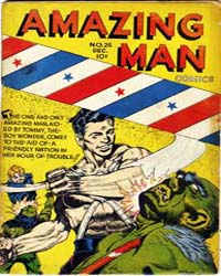 Amazing Man Comics : Issue 25 Volume Issue 25 by Centaur Publishing