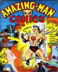 Amazing Man Comics : Issue 15 Volume Issue 15 by Centaur Publishing
