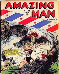 Amazing Man Comics : Issue 26 Volume Issue 26 by Centaur Publishing