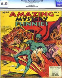 Amazing Mystery Funnies : Issue 20 Volume Issue 20 by Centaur Publishing