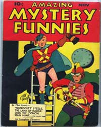 Amazing Mystery Funnies : Vol. 1, Issue ... Volume Vol. 1, Issue 3 by Centaur Publishing